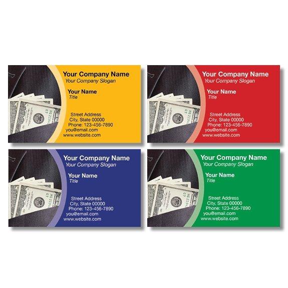 tax business card template 11