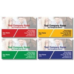 tax business card template 15