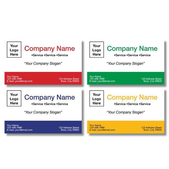 tax business card template 03