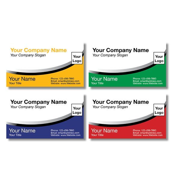 tax business card template 04