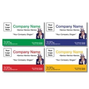 tax business card template 05