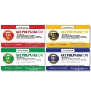 tax coupon template 04