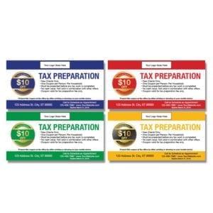 tax coupon template 05