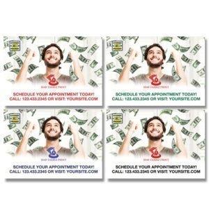 tax postcard template 08