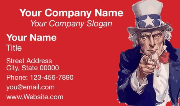 tax business card template 09 red
