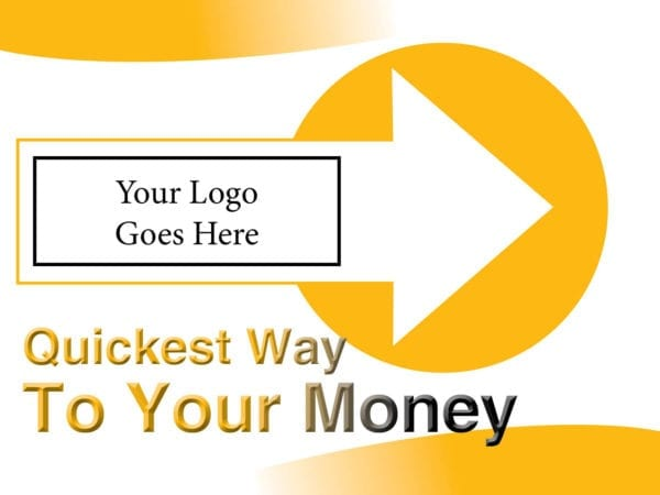 tax lawn sign template 01 yellow