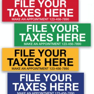 tax banner template 03