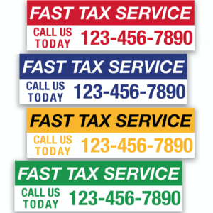 tax banner template 08