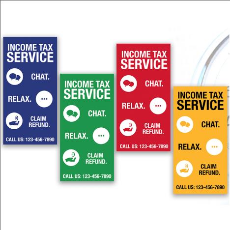 tax banner template 11
