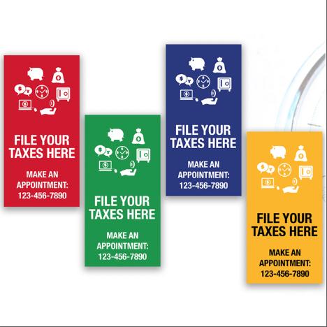 tax banner template 12